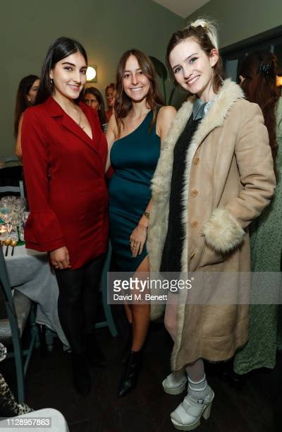 Lauren Mills Alaia De Santos Odabash and guest attend the mothers2mothers International Women's Day dinner hosted by Yasmin Mills with daughter...