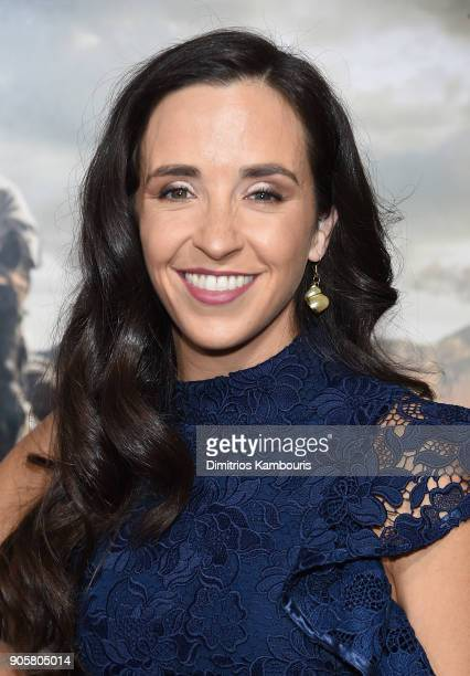 Lauren Myers attends the world premiere of '12 Strong' at Jazz at Lincoln Center on January 16 2018 in New York City
