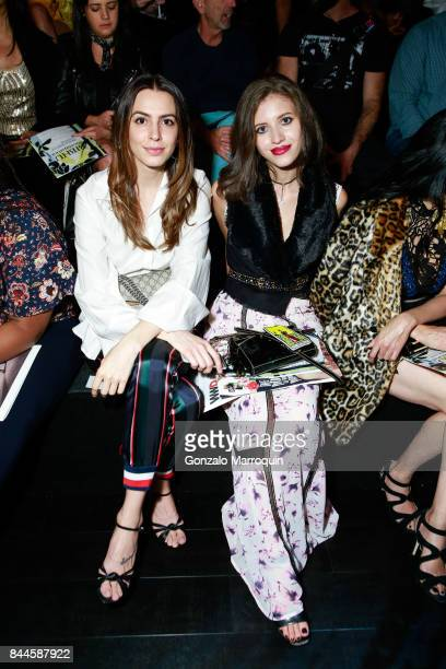 Lauren Norling and Lara Elmayan during the Bibhu Mohapatra fashion show with Narayan Jewellers in association with ForeverMark Diamonds at Skylight...