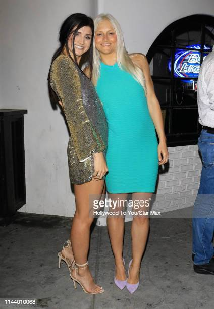 Lauren O'Connell and Kelley Wentworth are seen on May 14 2019 in Los Angeles California