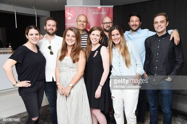 Lauren Papapietro Jay Moss Katie Nowak Mick Management founder and Vice Chair of the MusiCares Board Michael McDonald Rebecca Buckley Nick Stern...