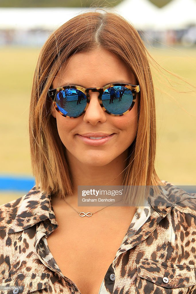 Lauren Phillips attends the Portsea Polo event at Point Nepean Quarantine Station on January 10, 2015 in Melbourne, Australia.