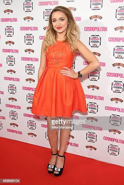 Lauren Platt attends the Cosmopolitan Ultimate Women of the Year Awards at One Mayfair on December 3 2014 in London England