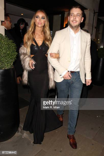 Lauren Pope attending the ITV Gala afterparty at Aqua on November 9 2017 in London England