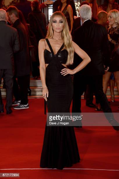Lauren Pope attends the ITV Gala held at the London Palladium on November 9 2017 in London England