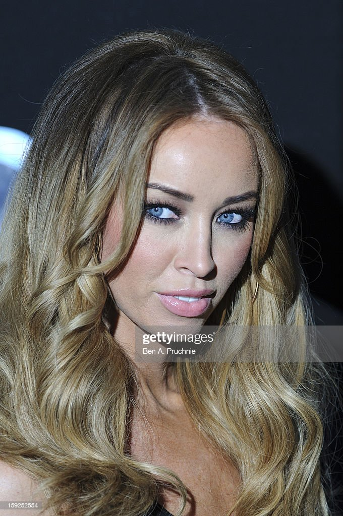 Lauren Pope attends the Lynch L.S.A launch event at Wimbledon Studios on January 10, 2013 in London, England.