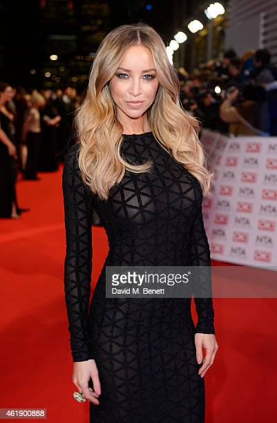 Lauren Pope attends the National Television Awards at 02 Arena on January 21 2015 in London England