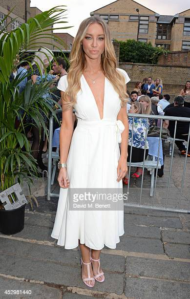 Lauren Pope attends the star studded VIP launch party for truTV a brand new larger than life TV channel launching on 4th August at the truMan Brewery...