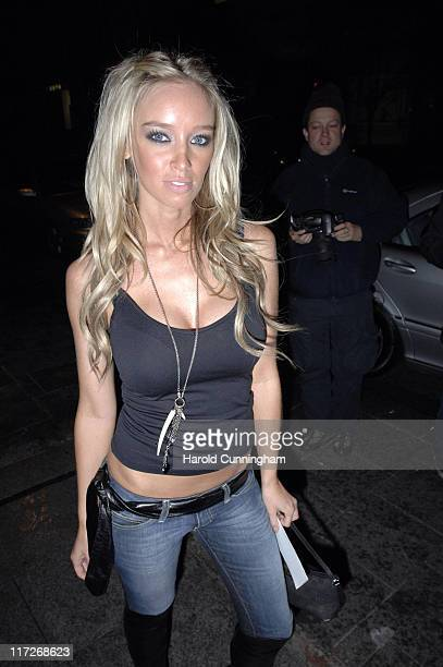 Lauren Pope during 2006 Home Run Party Arrivals at Embassy Club in London Great Britain