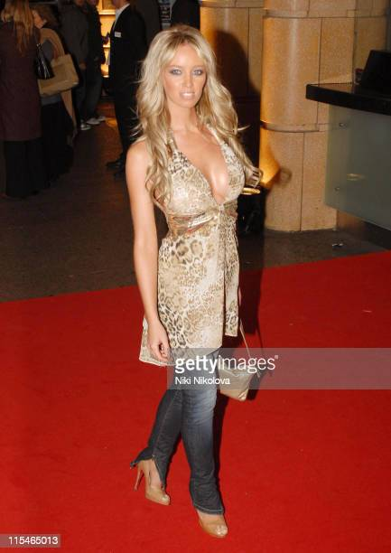 Lauren Pope during ''Jackass Number Two'' London Premiere Red Carpet at Vue West End in London Great Britain