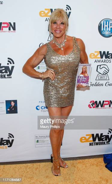 Lauren Powers attends the eZWay Awards Golden Gala at Center Club Orange County on August 30 2019 in Costa Mesa California