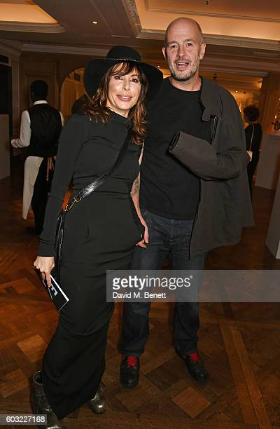 Lauren Prakke and Jake Chapman attend the launch of Fortnum's X Frank at Fortnum Mason on September 12 2016 in London United Kingdom This free...