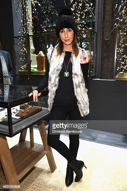 Lauren Rae Levy attends the David Yurman Soho Boutique Grand Opening event to benefit New Yorkers For Children on February 10 2015 in New York City