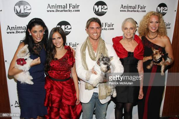 Lauren Rae Levy Kelli Tomashoff Keith Lissner Frances Hayward and Morgen Schick attend ANIMAL FAIR Magazine Hosts 10th Annual Paws for Style Fashion...