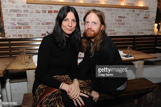 Lauren Rayner and Ben Rayner attend a holiday dinner in support of the UN Women's Global Movement For Gender Equality 'HeForShe' hosted by AG Alexa...