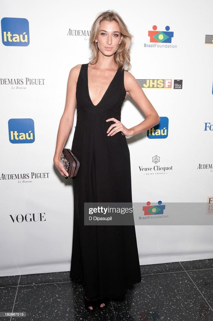 Lauren Remington Platt attends the 11th Brazil Foundation NYC gala at The Museum of Modern Art on September 18, 2013 in New York City.