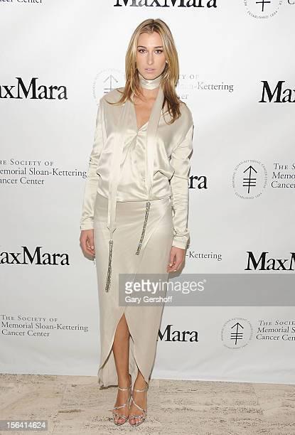Lauren Remington Platt attends the 2012 Society of Memorial SloanKettering Cancer Center fall party at Four Seasons Restaurant on November 14 2012 in...