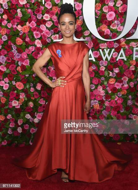 Lauren Ridloff attends the 72nd Annual Tony Awards at Radio City Music Hall on June 10 2018 in New York City