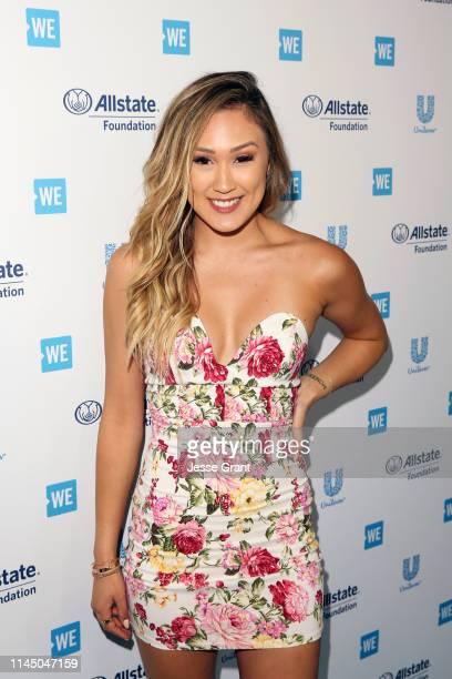 Lauren Riihimaki attends WE Day California at The Forum on April 25 2019 in Inglewood California
