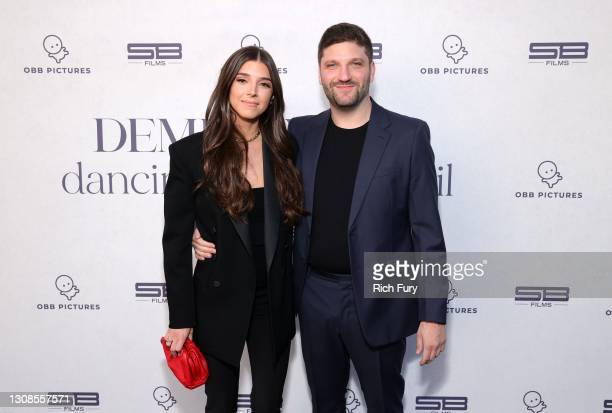 "Lauren Rothberg and Michael D. Ratner, Director/Executive Producer OBB Pictures attend the OBB Premiere Event for YouTube Originals Docuseries ""Demi..."