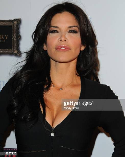 Lauren Sanchez attends the Pussycat Dolls Burlesque Saloon on May 19 2012 in Las Vegas Nevada