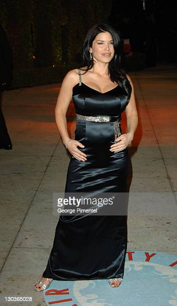 Lauren Sanchez during 2006 Vanity Fair Oscar Party Hosted by Graydon Carter Arrivals at Morton's in West Hollywood California United States