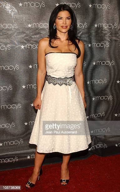 Lauren Sanchez during Macy's and American Express Passport Gala 2005 Arrivals at Barker Hanger in Santa Monica California United States