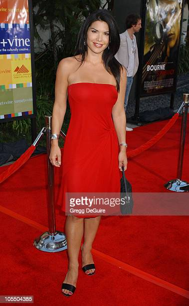 Lauren Sanchez during The Bourne Supremacy World Premiere Arrivals at ArcLight Cinema in Hollywood California United States