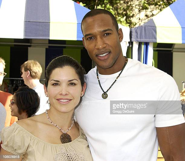 Lauren Sanchez Henry Simmons during 2nd Annual Danny Seo's SuperNatural Super Suite at The W Hotel in Westwood California United States