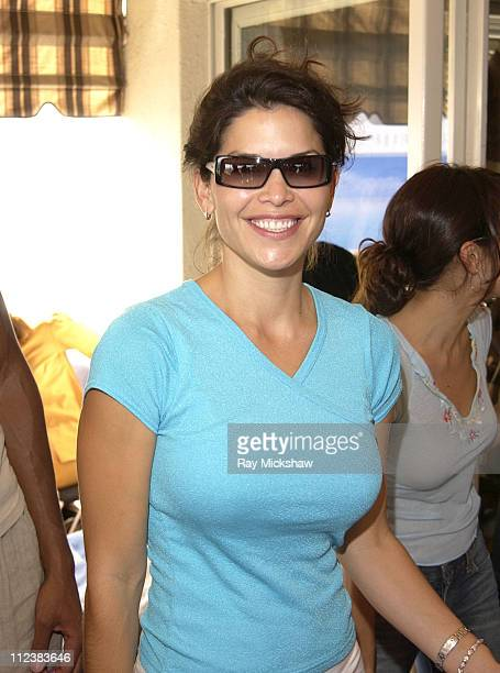 Lauren Sanchez wearing MaxMara 271/s sunglasses during Safilo Partners with Solstice Sunglass Store Chain at The Cabana Beauty Buffet Day 2 at Ma...