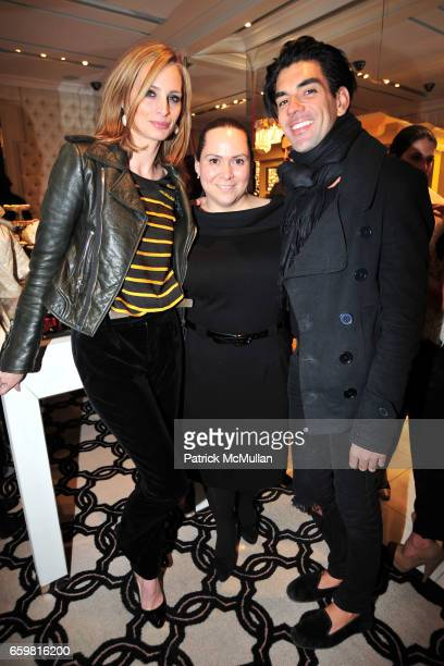 Lauren Santo Domingo Alexa Rodulfo and Keegan Singh attend Ivanka Trump Celebrates the Debut of BOIS BLANC Alexa Rodulfo's New Candle Collection at...