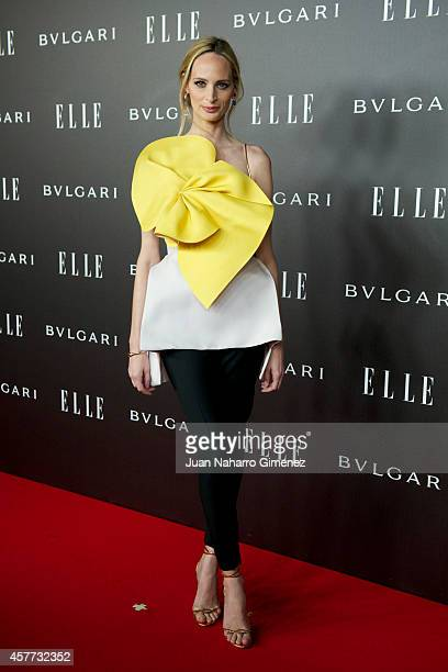 Lauren Santo Domingo attends 'Elle Style Awards 2014' photocall at Italian Embassy on October 23 2014 in Madrid Spain