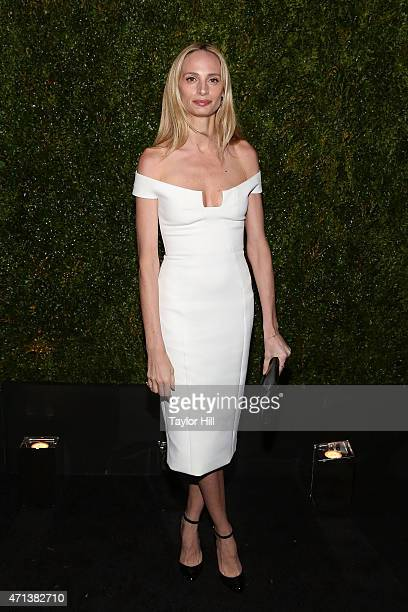 Lauren Santo Domingo attends the 2015 Tribeca Film Festival Chanel Artists' Dinner at Balthazar on April 20 2015 in New York City