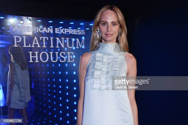 Lauren Santo Domingo attends the Alexa Chung London Fashion Week After Party at American Express Platinum House on September 15 2018 in London England