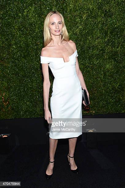 Lauren Santo Domingo attends the Chanel Dinner during the 2015 Tribeca Film Festival at Balthazar on April 20 2015 in New York City