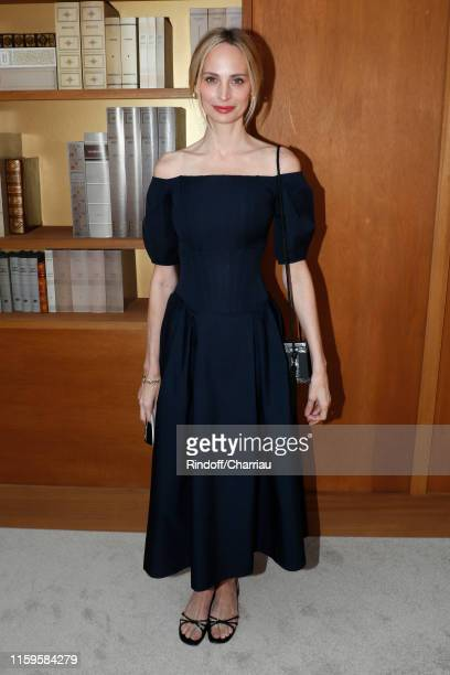 Lauren Santo Domingo attends the Chanel Haute Couture Fall/Winter 2019 2020 show as part of Paris Fashion Week on July 02, 2019 in Paris, France.