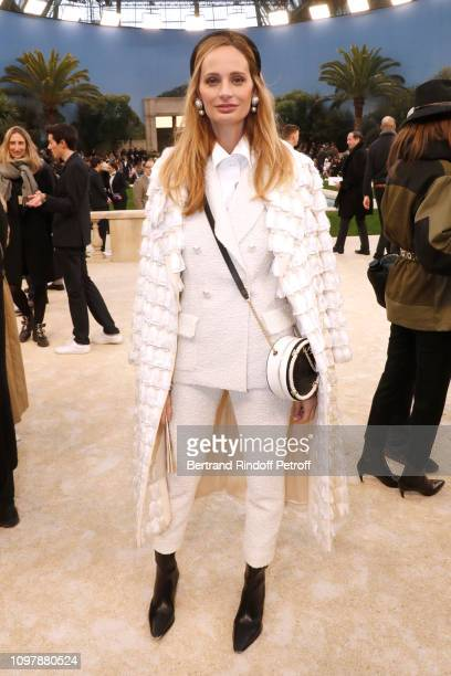 Lauren Santo Domingo attends the Chanel Haute Couture Spring Summer 2019 show as part of Paris Fashion Week on January 22 2019 in Paris France