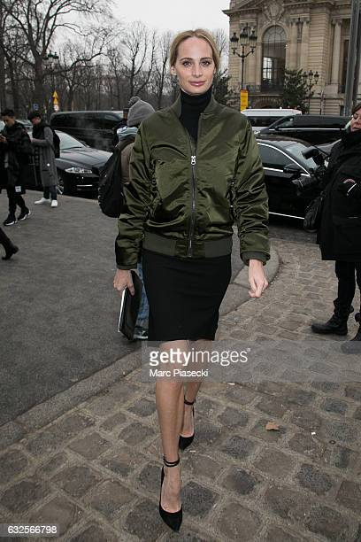 Lauren Santo Domingo attends the Chanel Haute Couture Spring Summer 2017 show as part of Paris Fashion Week on January 24 2017 in Paris France
