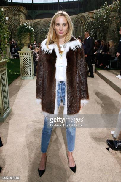 Lauren Santo Domingo attends the Chanel Haute Couture Spring Summer 2018 show as part of Paris Fashion Week on January 23 2018 in Paris France