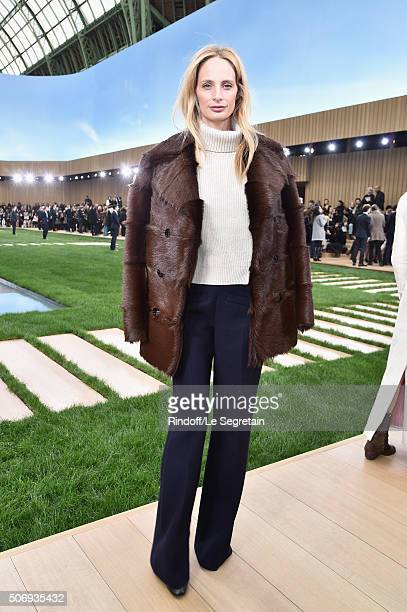 Lauren Santo Domingo attends the Chanel Spring Summer 2016 show as part of Paris Fashion Week on January 26 2016 in Paris France