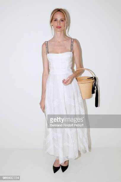 Lauren Santo Domingo attends the Christian Dior Haute Couture Fall Winter 2018/2019 show as part of Paris Fashion Week on July 2 2018 in Paris France