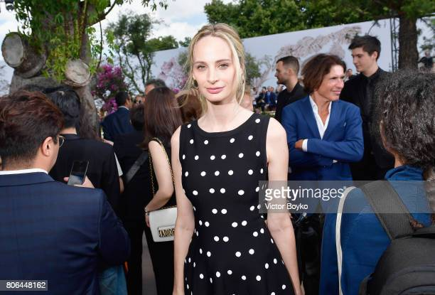 Lauren Santo Domingo attends the Christian Dior Haute Couture Fall/Winter 20172018 show as part of Haute Couture Paris Fashion Week on July 3 2017 in...