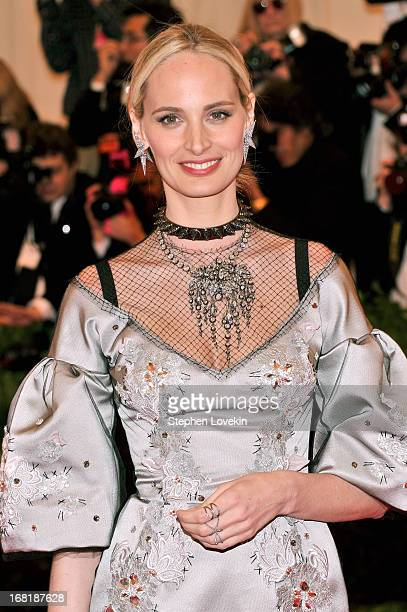 Lauren Santo Domingo attends the Costume Institute Gala for the 'PUNK Chaos to Couture' exhibition at the Metropolitan Museum of Art on May 6 2013 in...