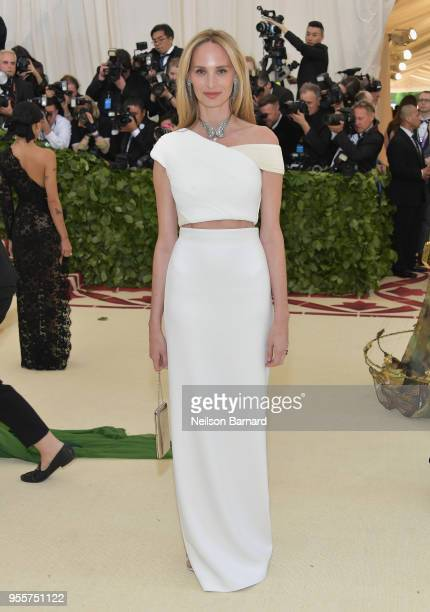Lauren Santo Domingo attends the Heavenly Bodies Fashion The Catholic Imagination Costume Institute Gala at The Metropolitan Museum of Art on May 7...