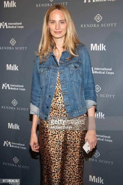 Lauren Santo Domingo attends the International Medical Corps Summer Benefit at Milk Studios on June 12 2018 in New York City