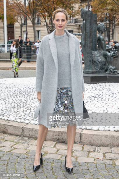 Lauren Santo Domingo attends the Miu Miu show as part of the Paris Fashion Week Womenswear Spring/Summer 2019 on October 2 2018 in Paris France