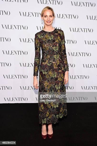 Lauren Santo Domingo attends the Valentino Sala Bianca 945 Event on December 10 2014 in New York City