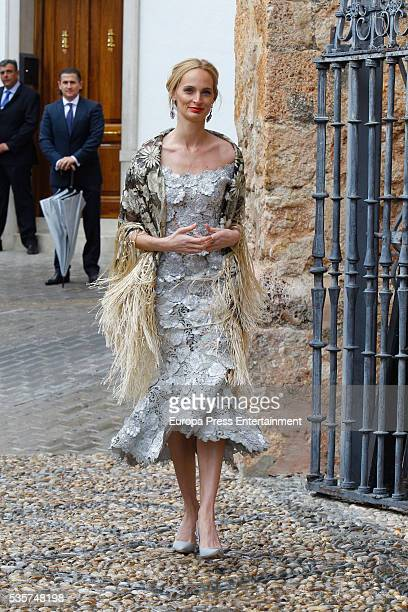 Lauren Santo Domingo attends the wedding of Lady Charlotte and Alejandro Santo Domingo on May 28, 2016 in Granada, Spain.