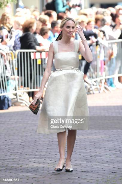 Lauren Santo Domingo during the wedding of Prince Ernst August of Hanover jr Duke of BrunswickLueneburg and his fiancee Ekaterina Malysheva at...