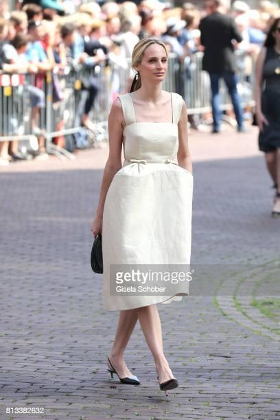 Lauren Santo Domingo during the wedding of Prince Ernst August of Hanover jr Duke of BrunswickLueneburg and his fiancee Ekaterina Malysheva at...